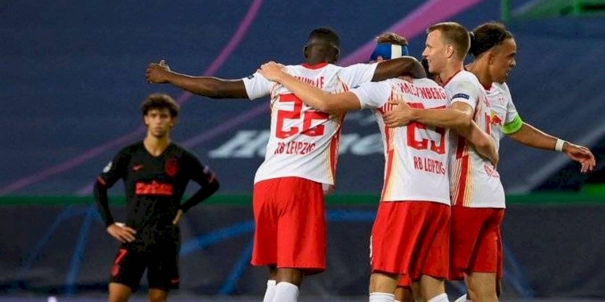RB Leipzig hace historia y se mete en semifinales de Champions League tras eliminar al Atlético de Madrid