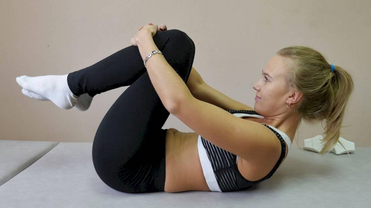 Flexión de piernas