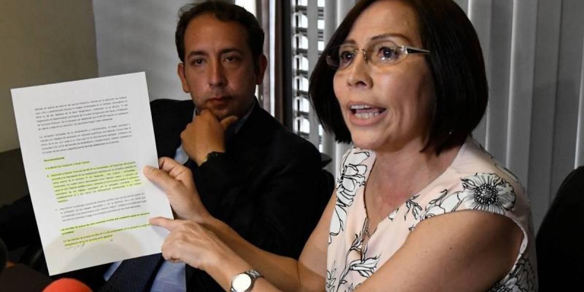 Exministra de Transporte se refugia en la Embajada de Argentina en Quito