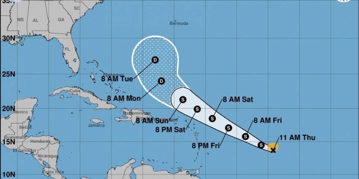Depresión tropical 11 se convierte en la tormenta tropical Josephine