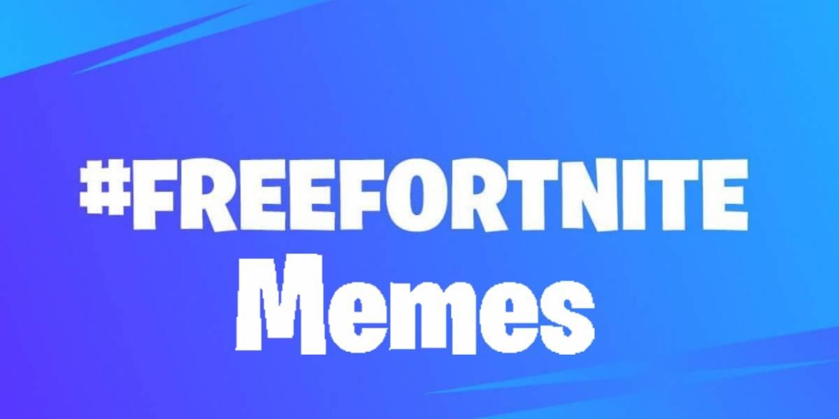Fortnite: estos son los mejores memes que nos ha dejado el #freefortnite