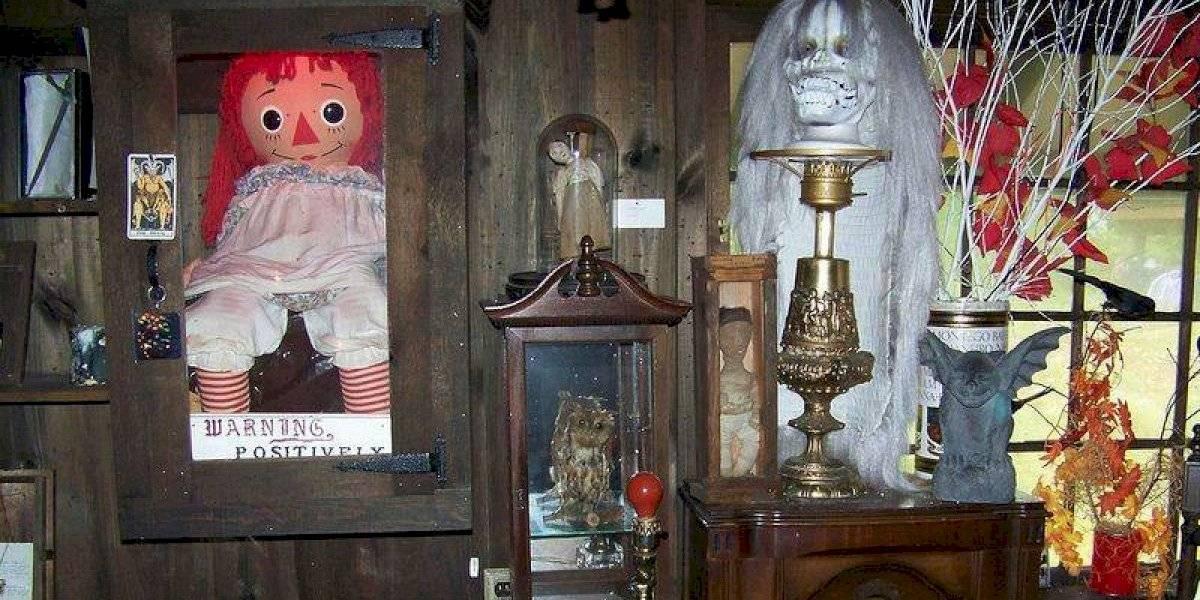 ¿Dónde está el Museo Warren de donde supuestamente escapó Annabelle?