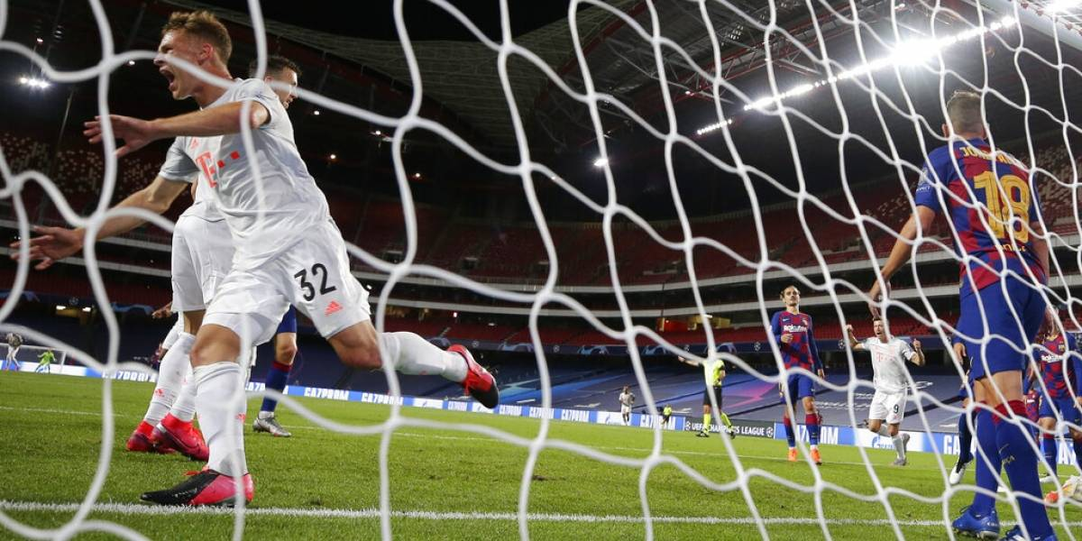 Bayern humilla al Barcelona y alcanza semifinal de la Champions