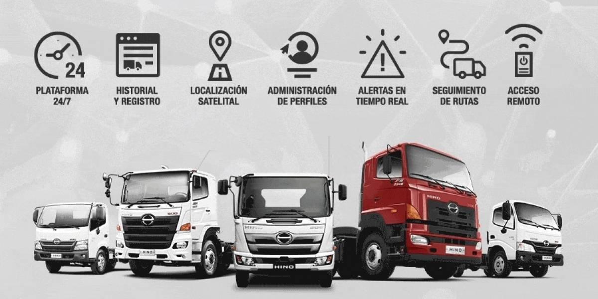 Hino presenta su plataforma de telemetría para camiones medianos