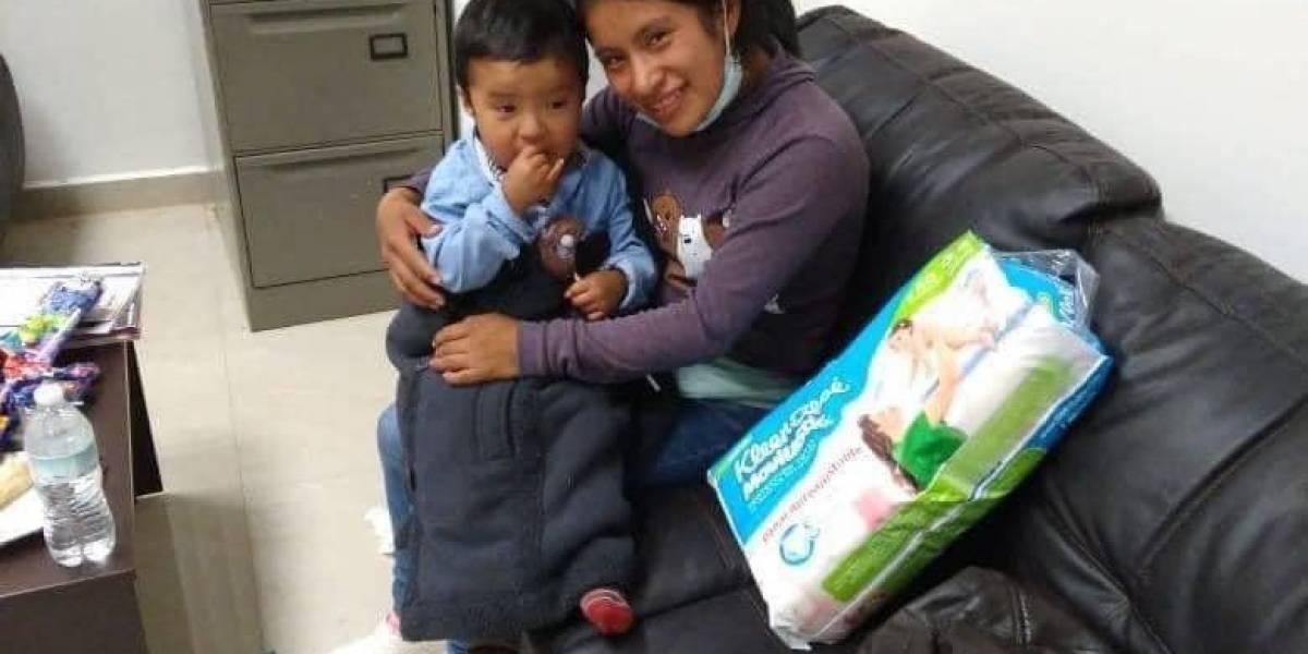 Encuentran a Dylan, el niño desaparecido en Chiapas