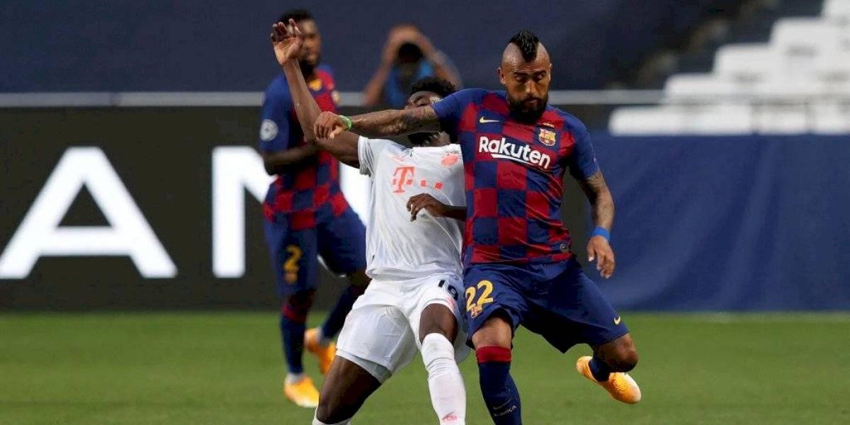 """A Vidal le sacaron en cara sus declaraciones: """"Ni vigor, ni llegada, ni nada. El mejor equipo del mundo estaba enfrente"""""""