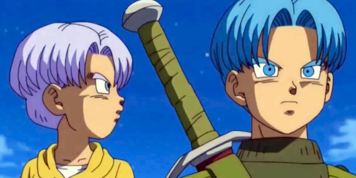 Dragon Ball Super: el niño Trunks volvería al manga con el cabello azul
