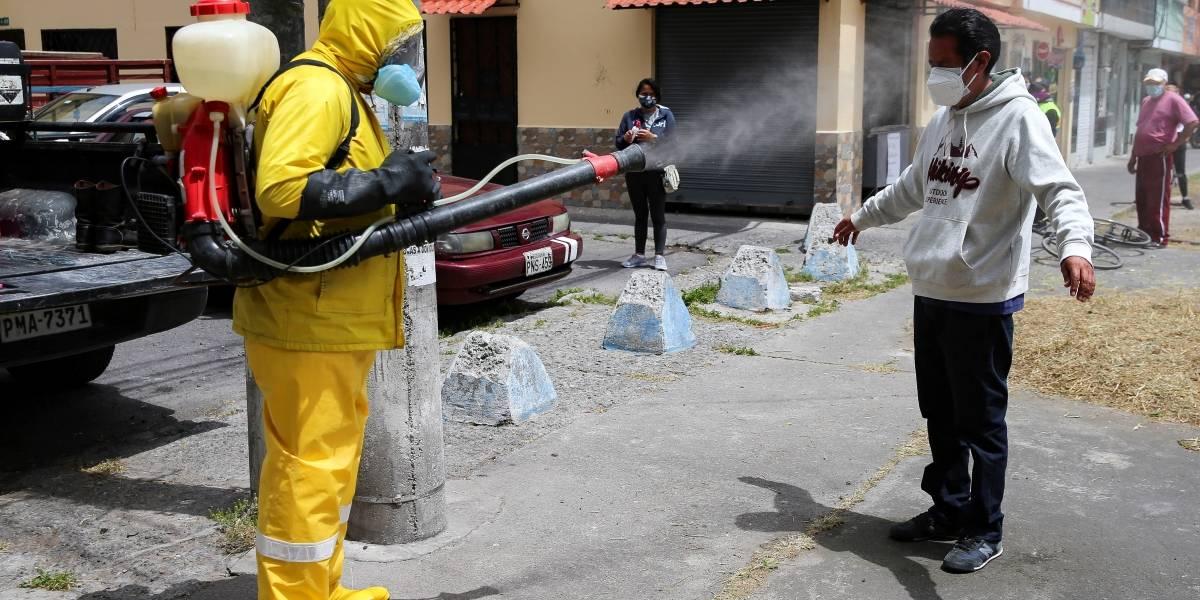 Ecuador reporta 121.525 positivos y 10.996 fallecidos por la COVID-19