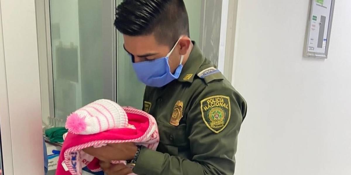 ¡Final feliz! Bebé hallada en un basurero de Bogotá ya salió del hospital