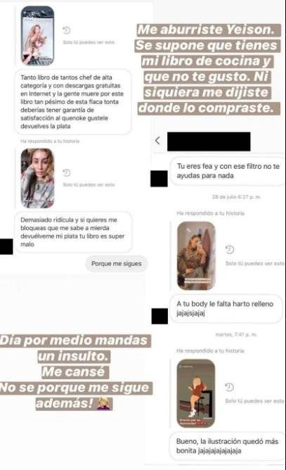 Daniela Castro le da una contundente respuesta a usuario que la ataca