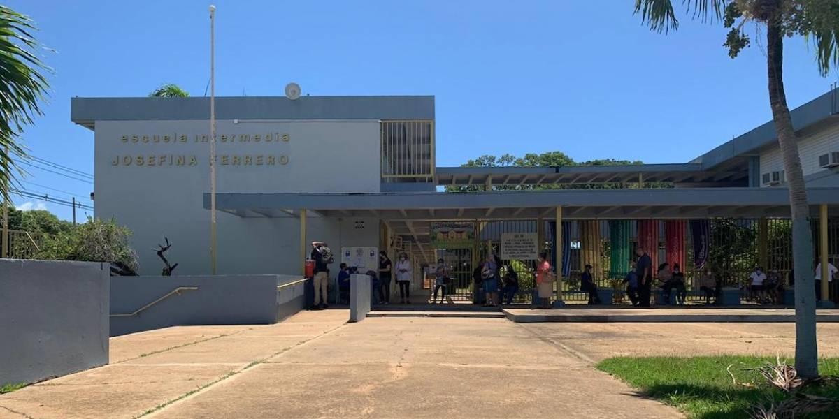 Escuelas con fallas estructurales son utilizadas para votar en las primarias