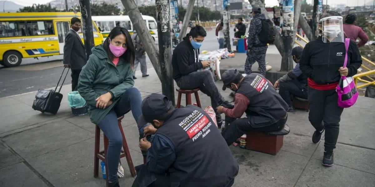 Dramático récord de desempleo en Perú: casi 7 millones de cesantes durante la crisis sanitaria