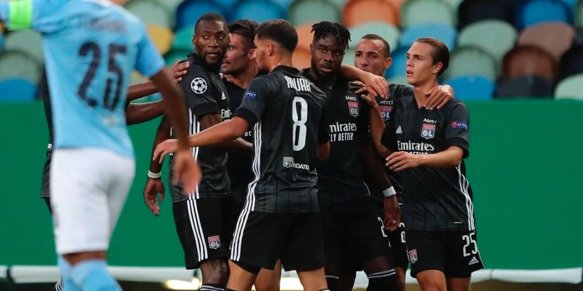 Champions League: Lyon sorprende y elimina al Manchester City