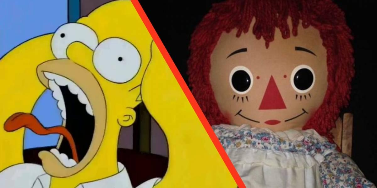 Los Simpson lo hacen nuevamente: predijeron el escape de Annabelle