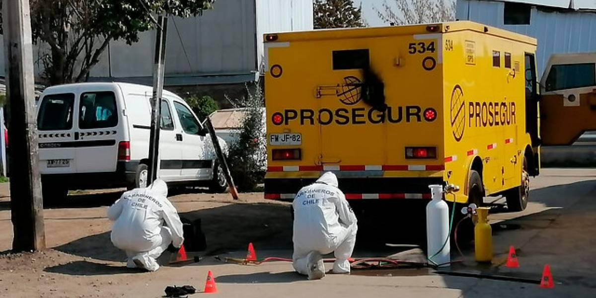 Prisión preventiva para detenidos por robo de camión de valores en Peñalolén