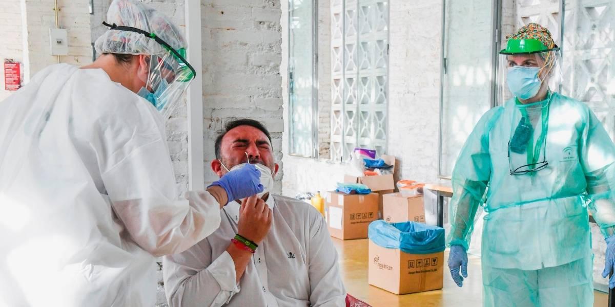 Vuelven a bajar casos de coronavirus en el país