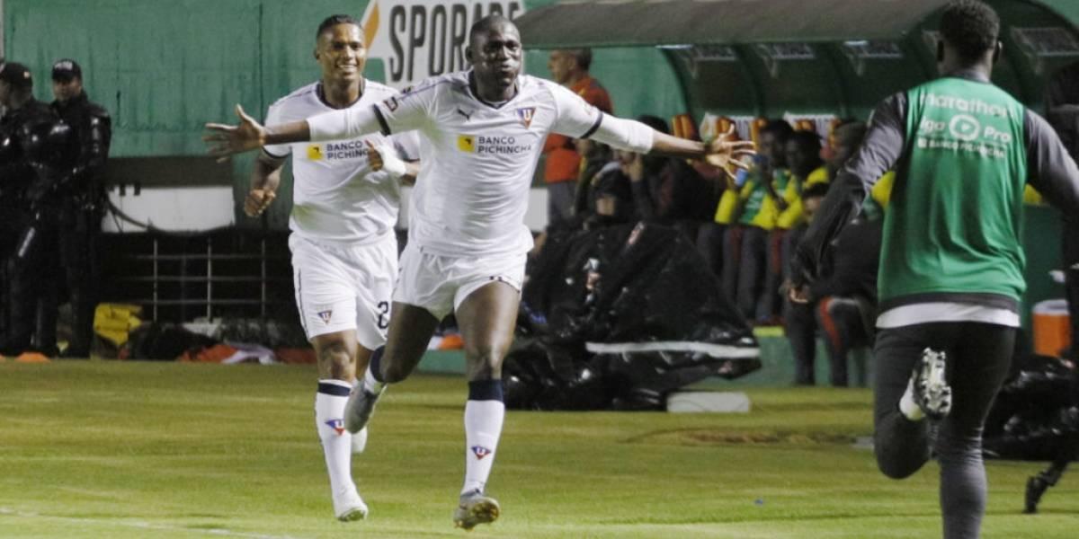 Olmedo vs Liga de Quito: Cristian Martínez Borja marcó el gol más rápido en lo que va de año