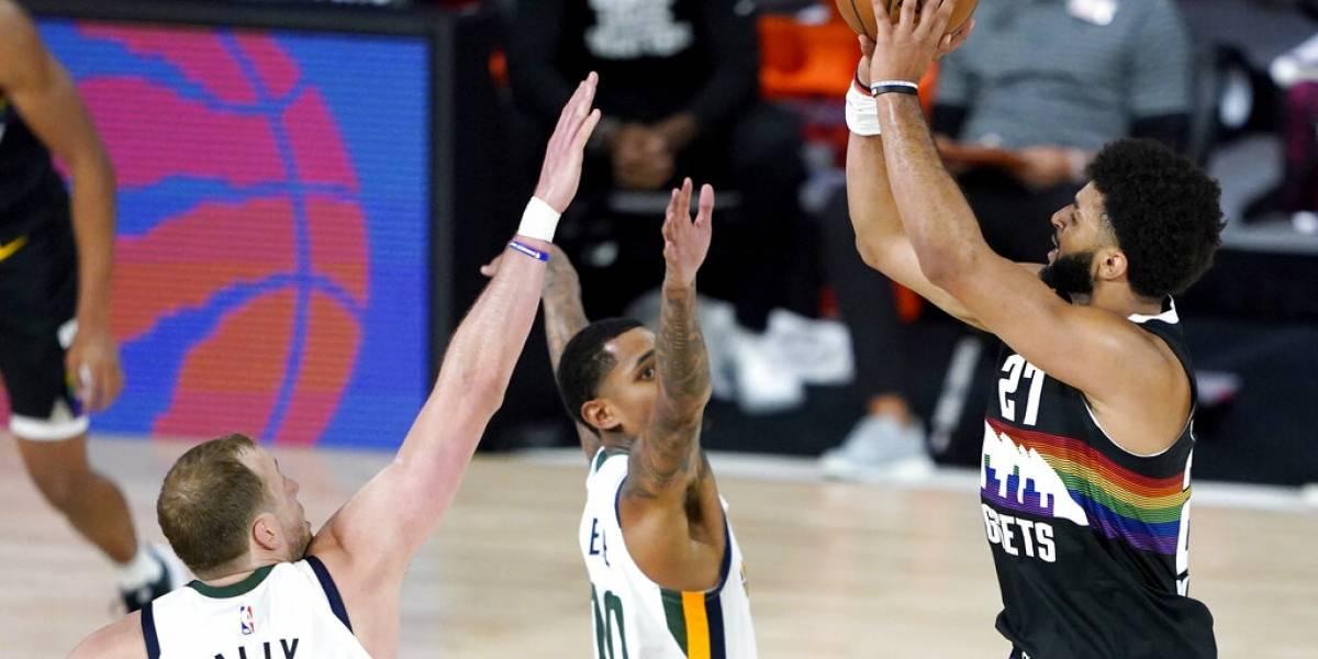 Denver Nuggets se llevan la victoria en primer partido de postemporada contra los Jazz