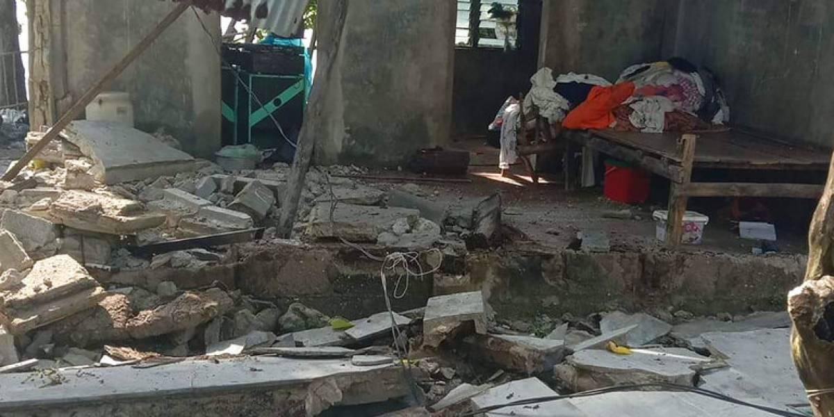 Terremoto de magnitud 6.5 sacude el centro de Filipinas
