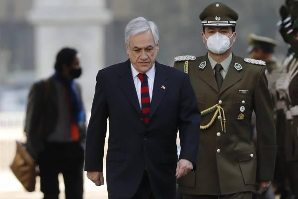 Cadem: Aprobación a Piñera cae 6 puntos y llega al 18% en medio de crisis de Carabineros
