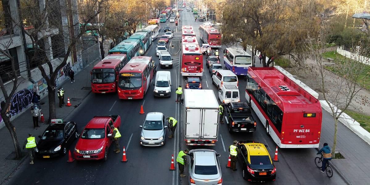Estación Central registra un aumento mayor al 20% en la circulación vehicular tras ingresar a Transición