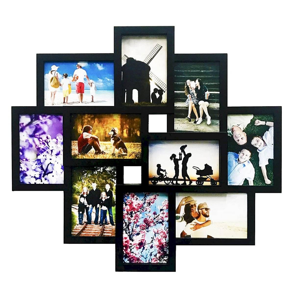 Las fotos familiares pueden adornar nuestras paredes o mesas