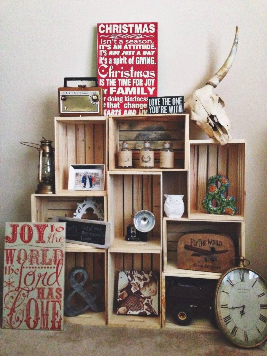 Los estantes son muy útiles para colocar nuestros objetos de recuerdo