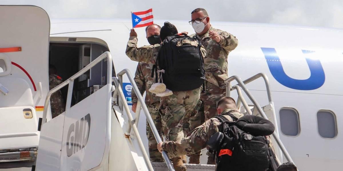 Movilizan guardias nacionales de Puerto Rico hacia base aérea en Honduras