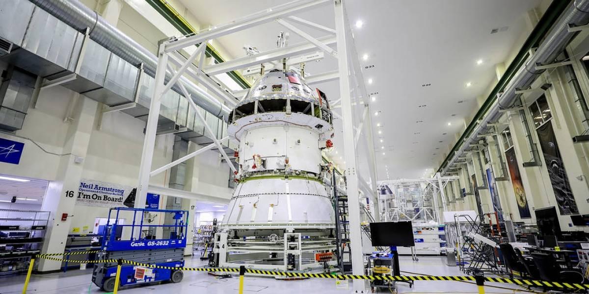 Misión Artemisa: NASA trabaja en adaptador para la nave espacial Orión
