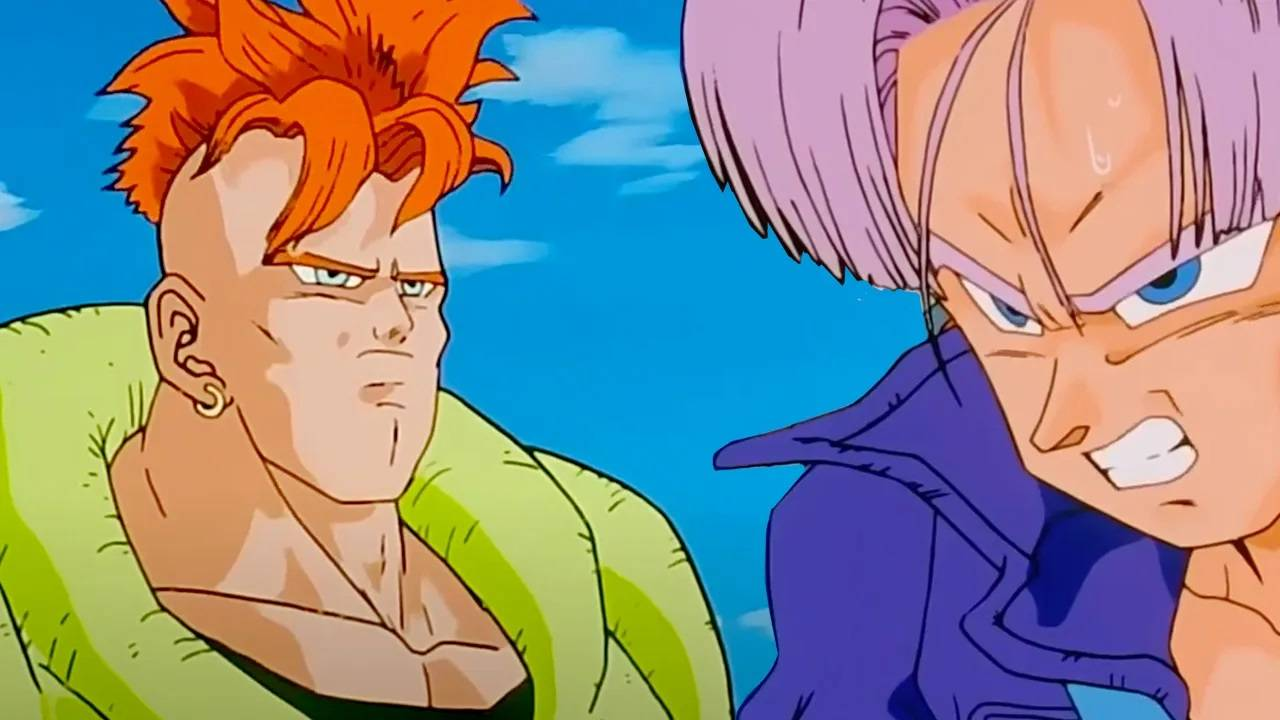 Trunks y Androide 16