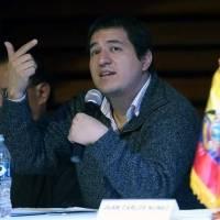 ¿Quién es Andrés Arauz, candidato presidencial, binomio de Rafael Correa?