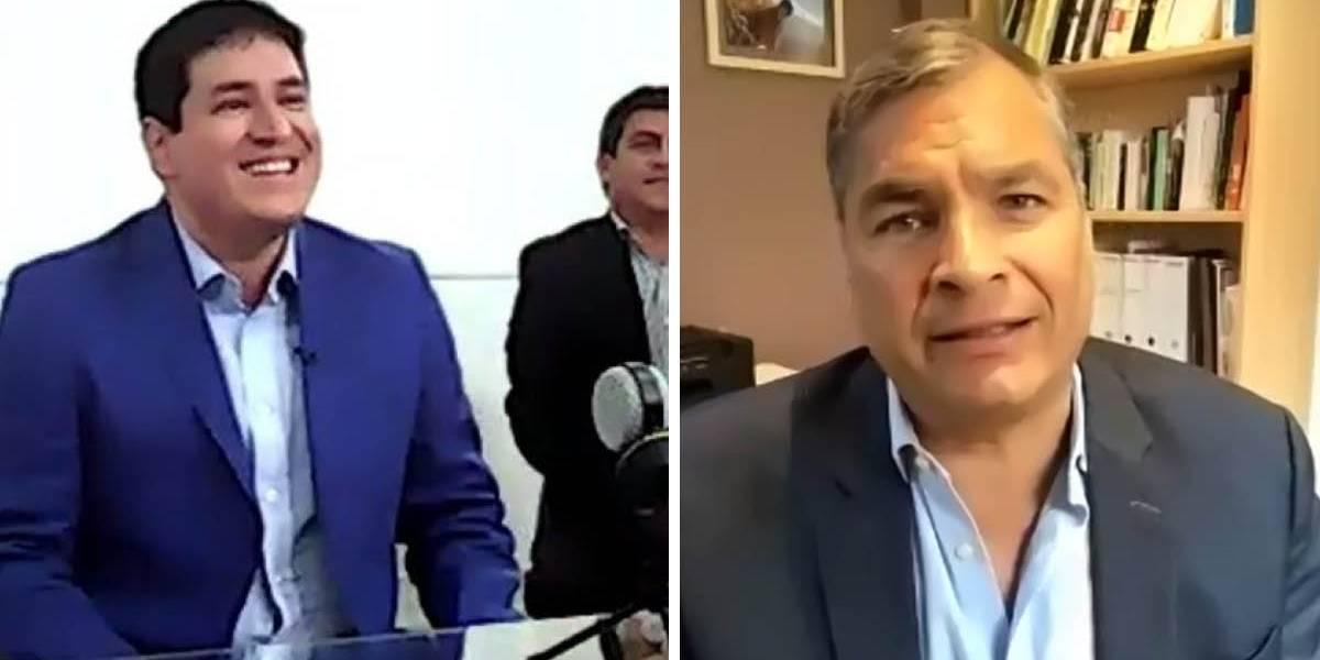 Elecciones 2021: Andrés Arauz y Rafael Correa confirman binomio presidencial