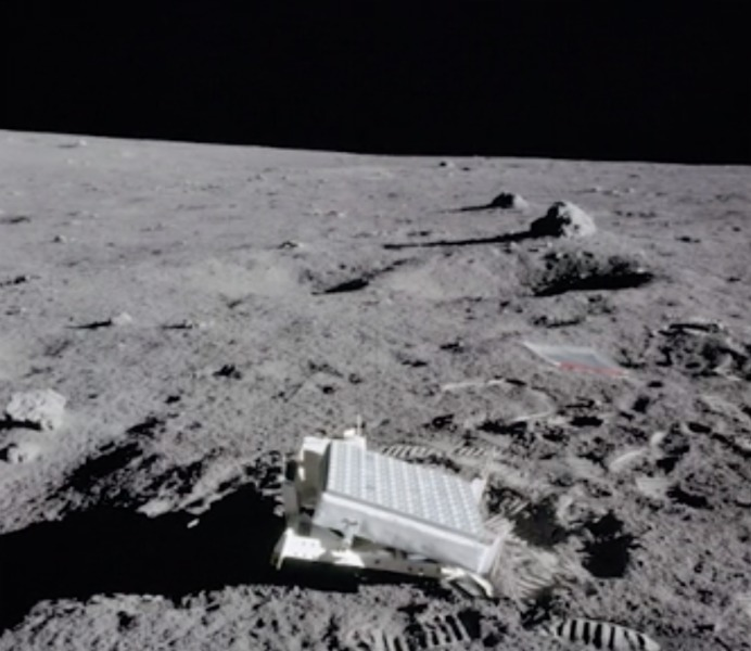 NASA Luna láser