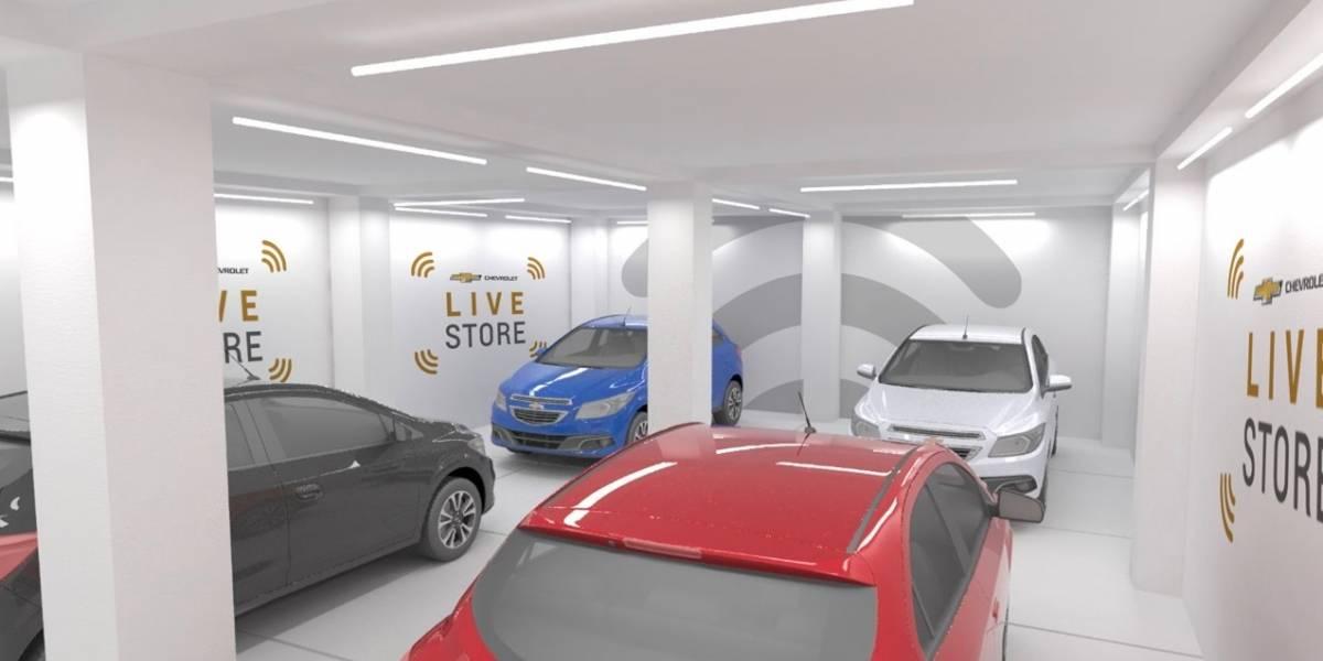 Chevrolet lleva la experiencia de compra a un nuevo nivel, con Live Store