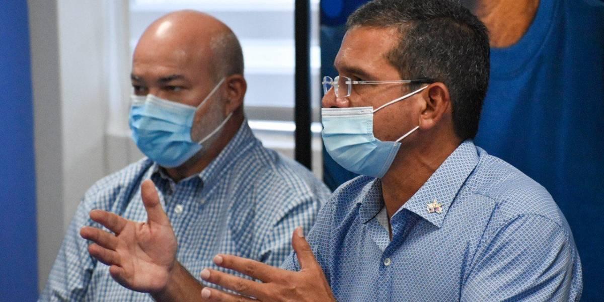 Pierluisi sale negativo a coronavirus, pero se mantendrá alejado