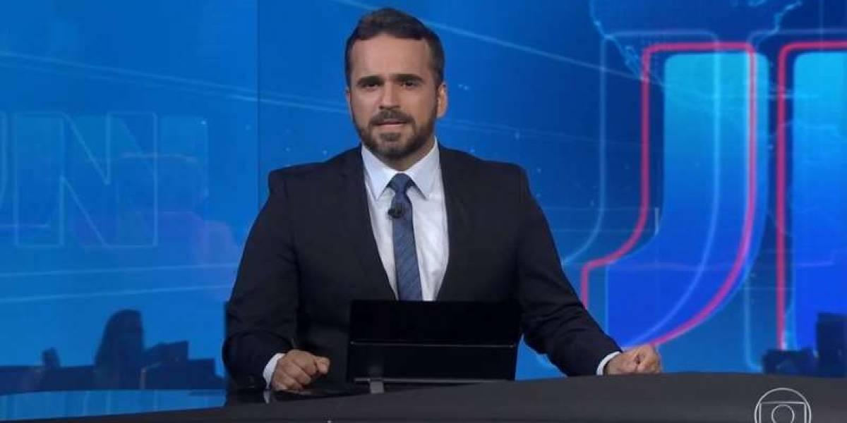 Apresentador da Globo no Alagoas tranquiliza público após enfarte