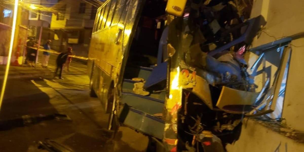 Fatal accidente en san Juan de Cumbayá deja una persona fallecida