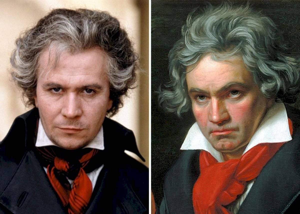 Gary Oldman y Ludwig van Beethoven