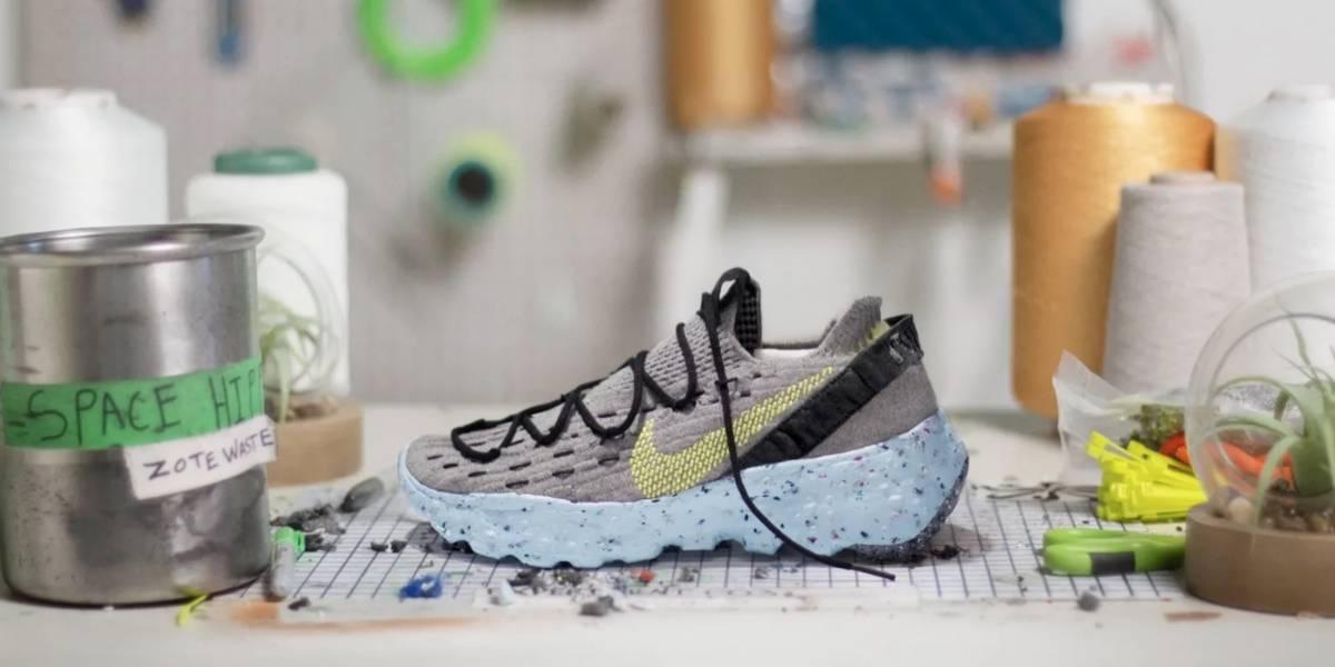 Space Hippie: Nike nos cuenta cómo utilizan tecnología para hacer más sustentables sus zapatillas