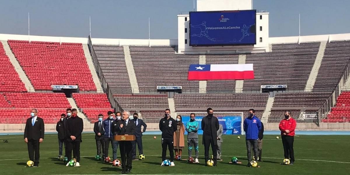 ¡Vuelve el fútbol chileno! Presidente Sebastián Piñera anunció el retorno del Campeonato Nacional