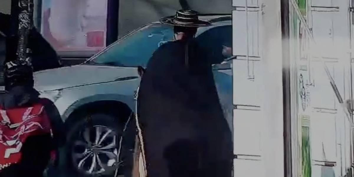 """Alcaldesa Matthei le hace un llamado al misterioso """"Zorro"""" de Providencia"""