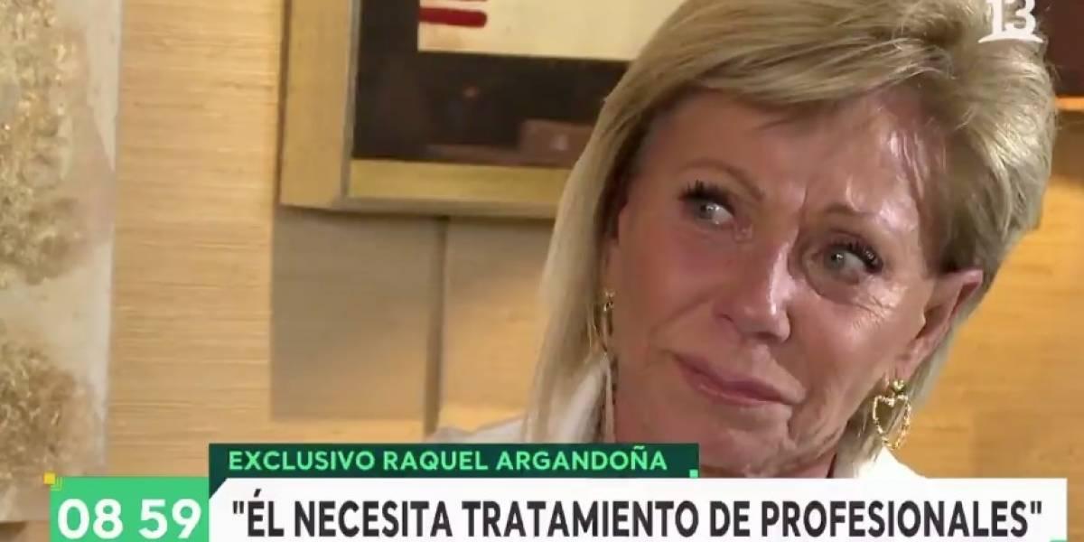 """Raquel Argandoña rompe el silencio: """"Somos una familia de mierda, todos necesitamos tratamiento"""""""