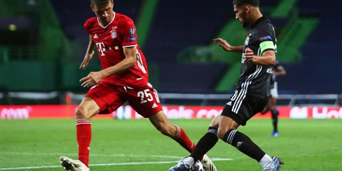 """Champions: El Bayern golea al Lyon y buscará su sexta """"orejona"""""""
