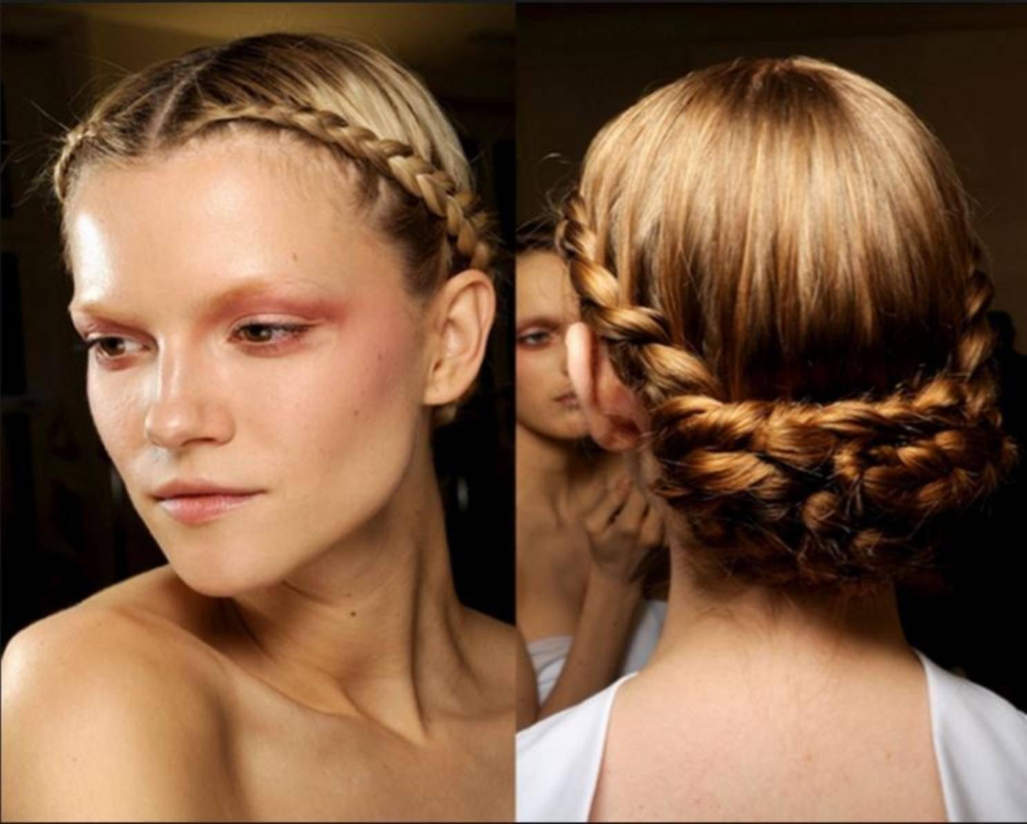 peinados formales para cara redonda