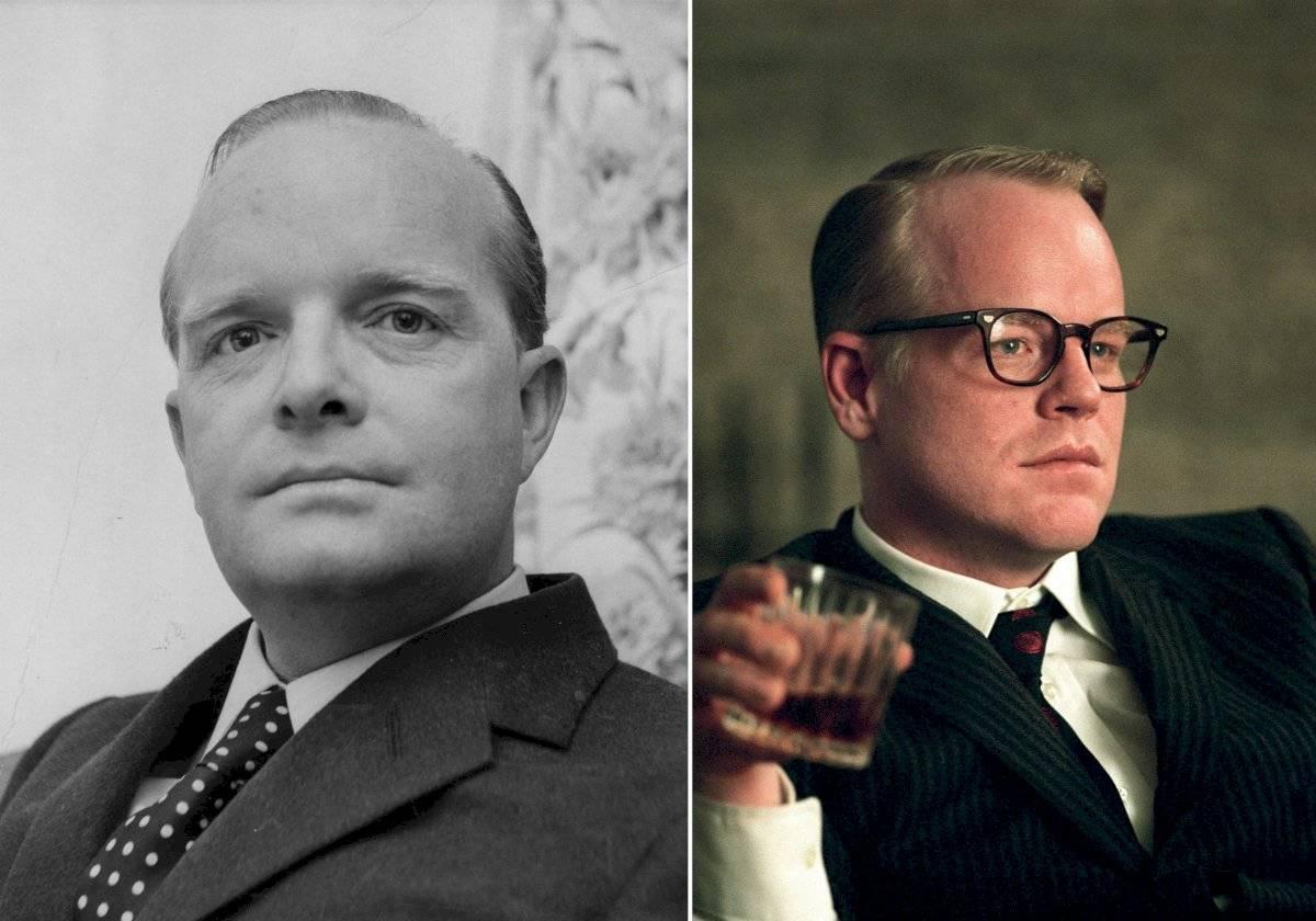 5- Philip Seymour Hoffman encarna a Truman Capote