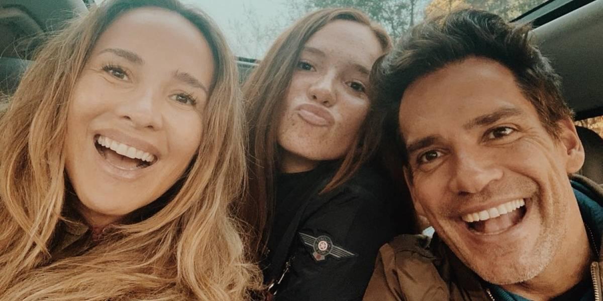 Hija de Angélica Castro y Cristián de la Fuente cautiva a fanáticos con foto al natural