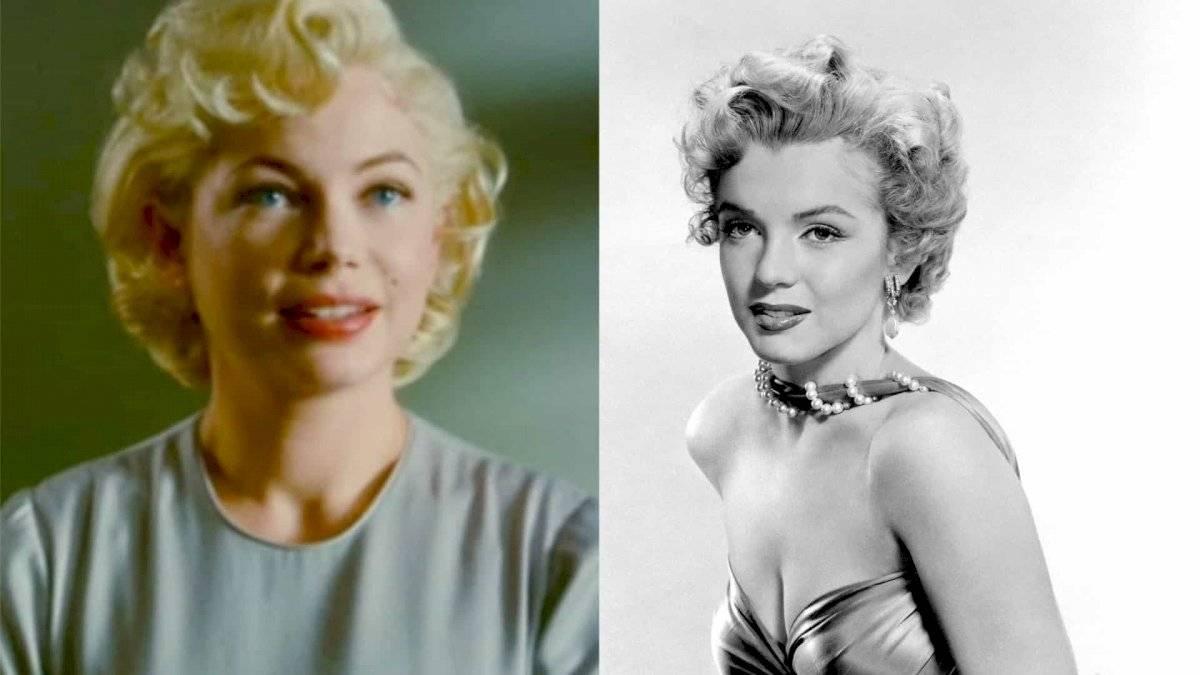 Michelle Williams la reencarnación de Marilyn Monroe