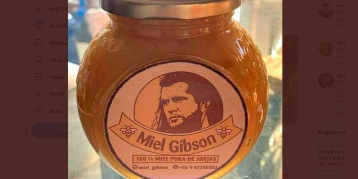 Dona de fábrica de mel terá que tirar foto de 'Mel Gibson' dos produtos
