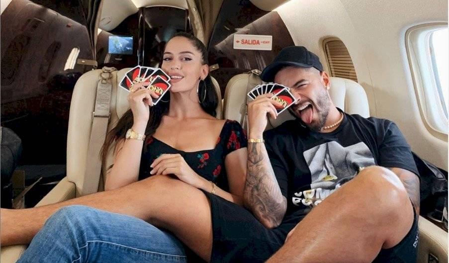 Natalia Barulich, la ex de Maluma y novia de Neymar