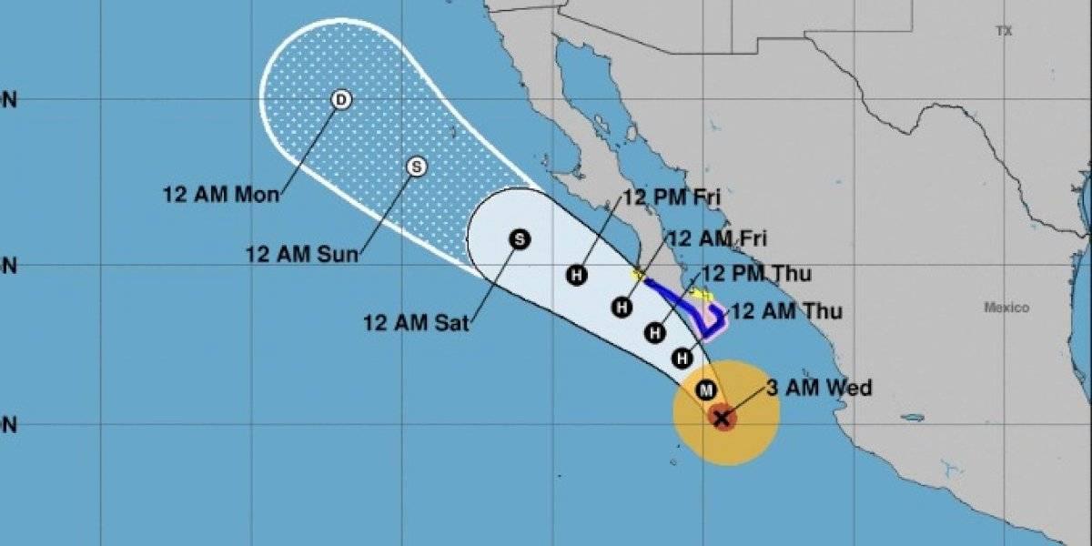 Poderoso huracán Genevieve se acerca a Baja California